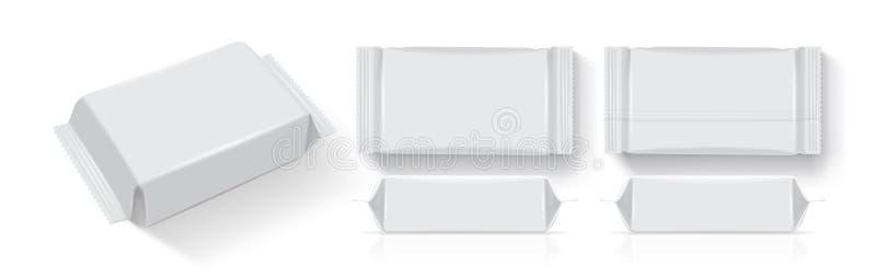 Document verpakking voor uw ontwerp en merk royalty-vrije illustratie
