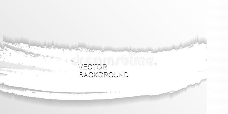 Document vierkante banner royalty-vrije illustratie