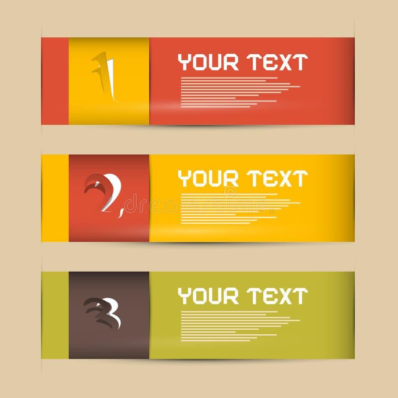 Document Vooruitgangsstappen voor Leerprogramma, Infographics stock illustratie