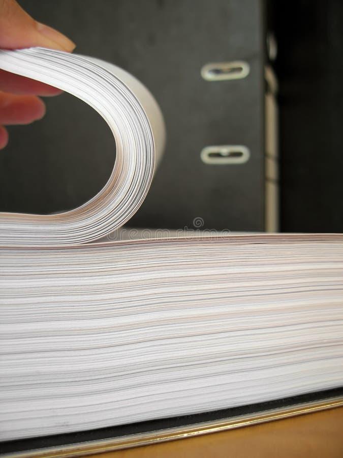 Documenten 1 royalty-vrije stock afbeeldingen