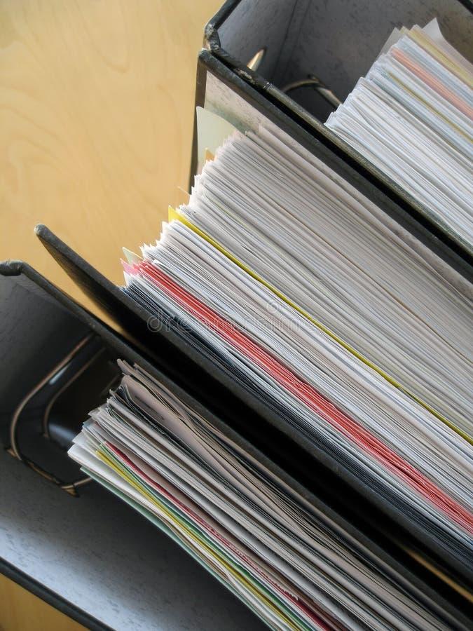 Documenten 3 royalty-vrije stock afbeeldingen