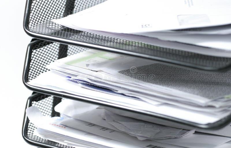 Documenten stock afbeelding