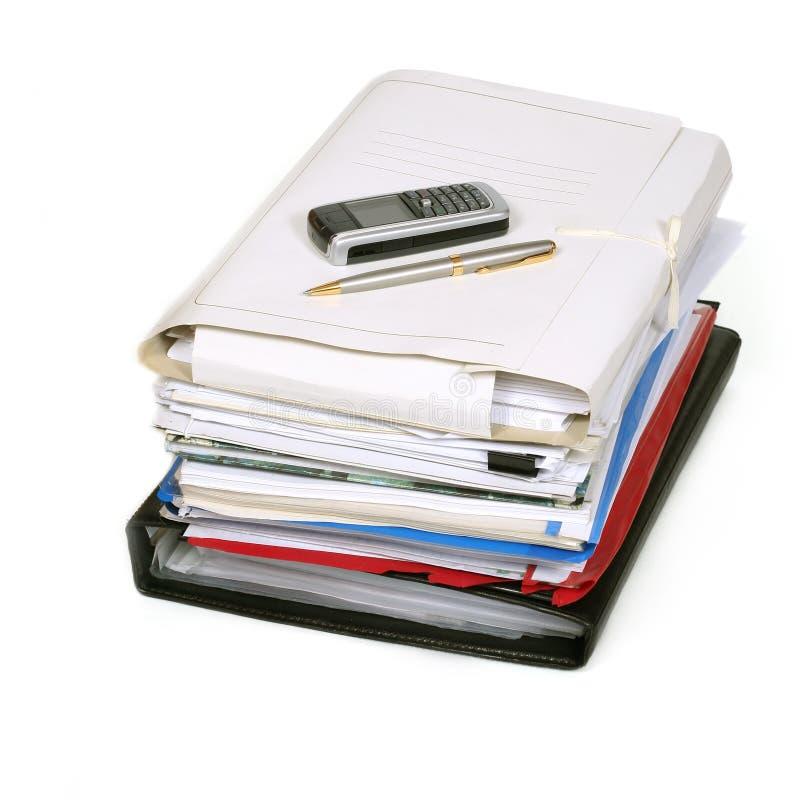 Documenten stock foto