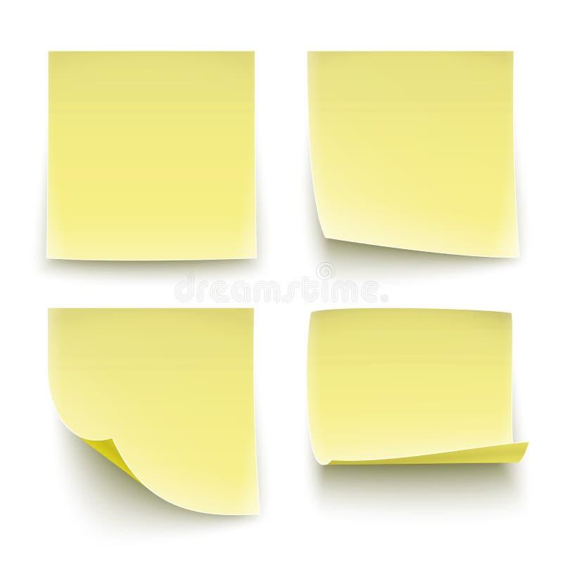 Documenten stickers. stock illustratie