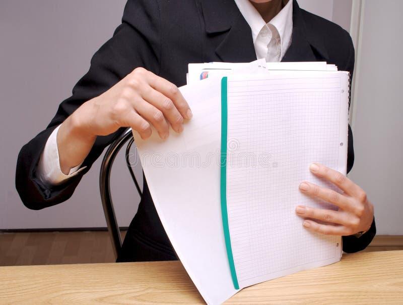 Documenti 2 dell'ufficio immagini stock