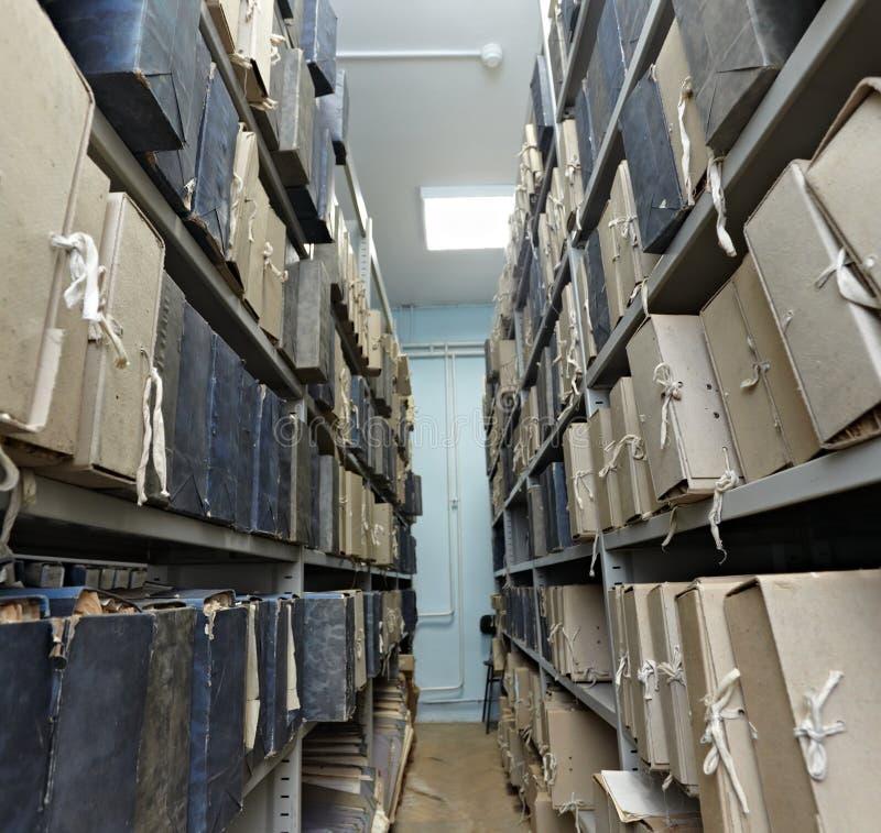Documenti dell'archivio dell'annata fotografia stock libera da diritti
