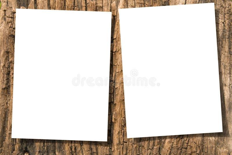 Documenti su legno immagine stock libera da diritti