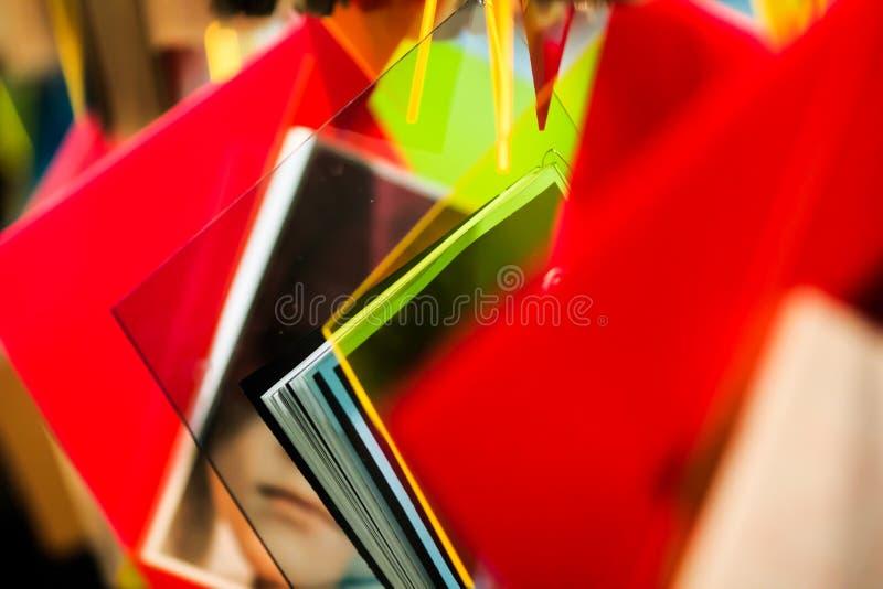 Documenti variopinti fotografia stock