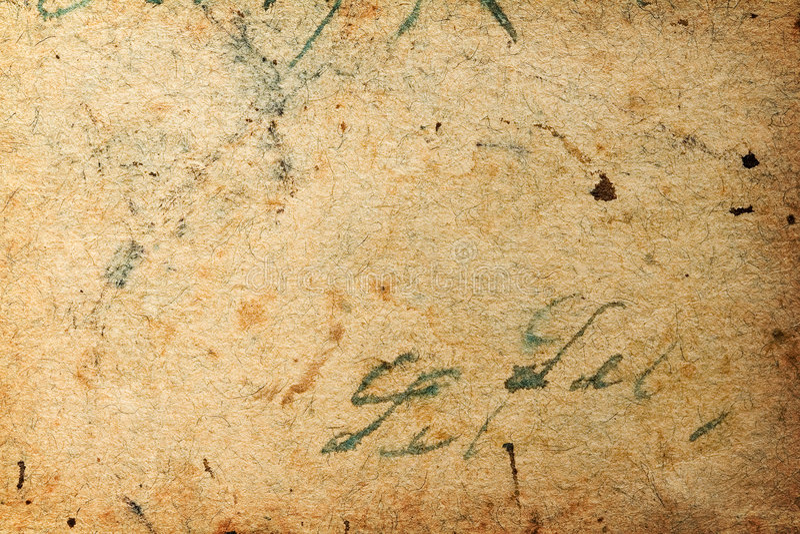Documento antico fotografie stock libere da diritti