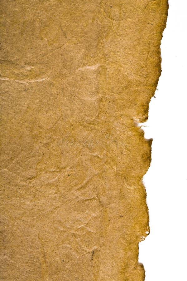 Documento antico immagine stock