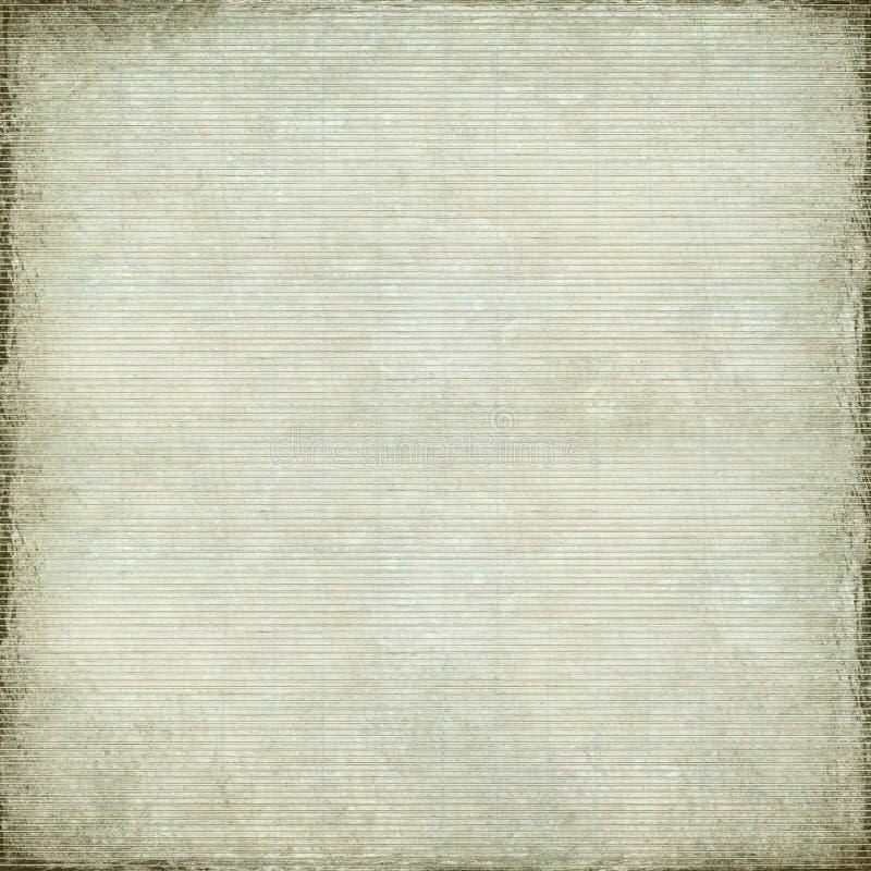 Documento antico bianco e priorità bassa tessuta bambù illustrazione vettoriale