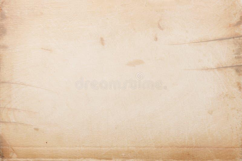 Documento antico con i contrassegni di età illustrazione di stock