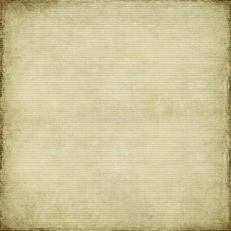 Documento antico e priorità bassa tessuta bambù royalty illustrazione gratis