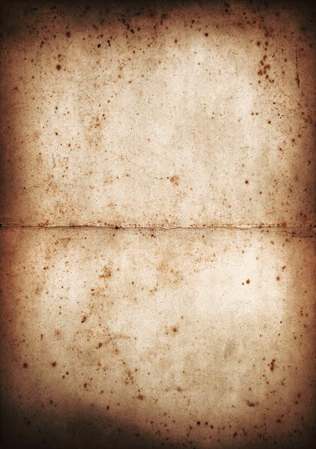 Documento antico - serie di colore fotografie stock