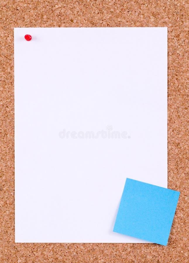 Documento in bianco immagine stock libera da diritti