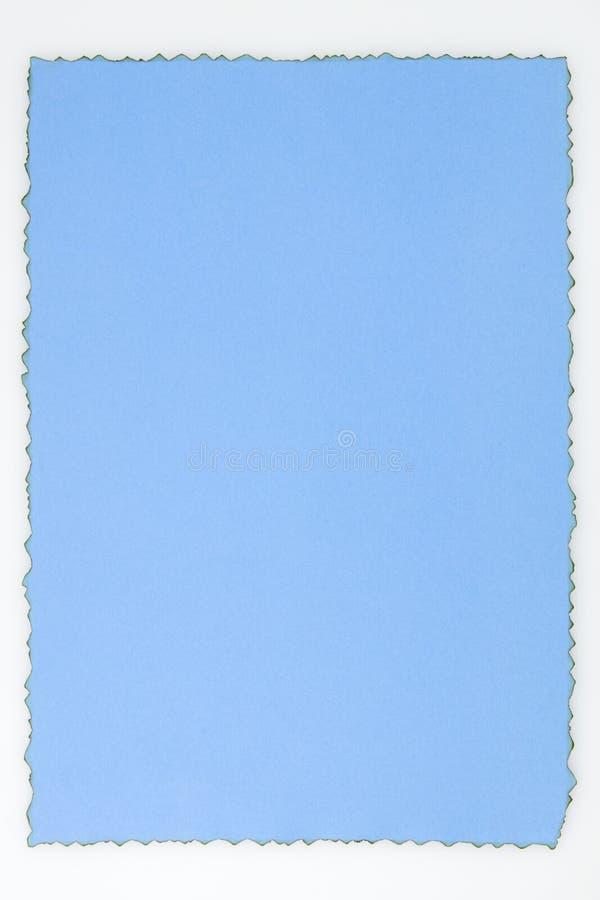 Documento blu immagine stock