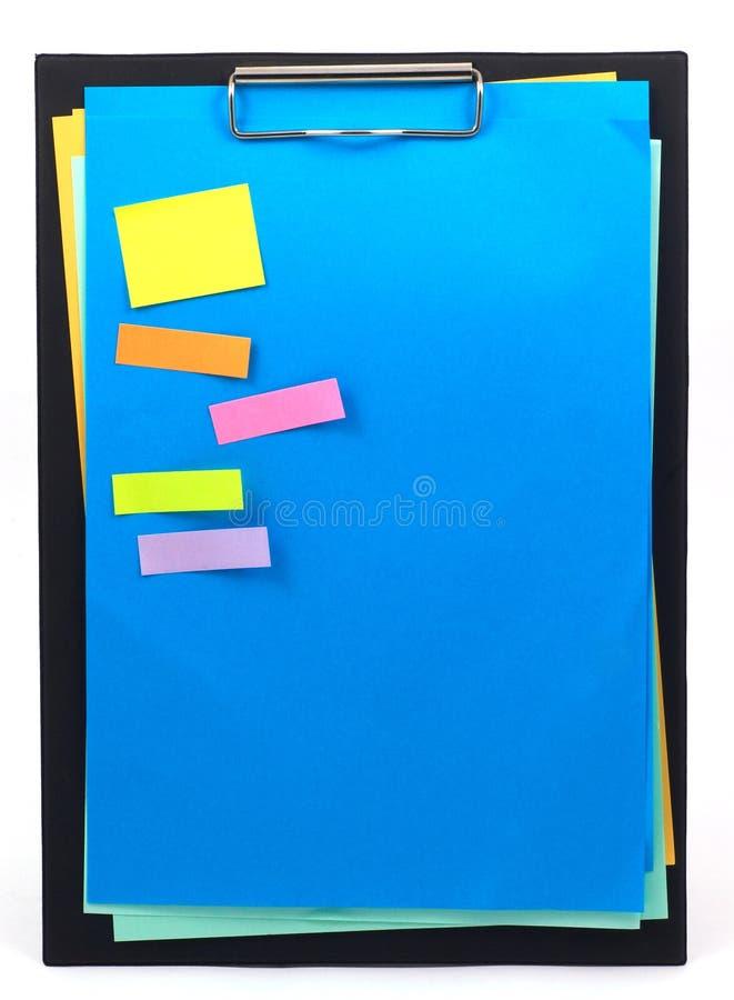 Documento blu immagini stock libere da diritti