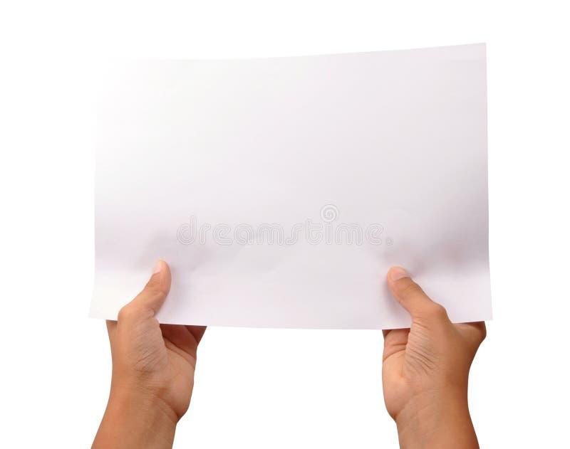 Documento comercial imagen de archivo libre de regalías