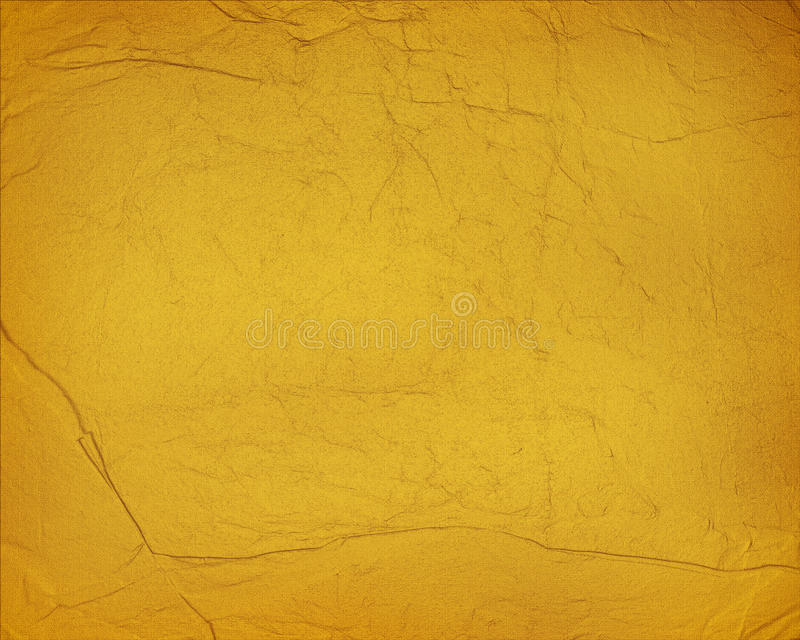 Documento de información amarillo de Grunge imagen de archivo