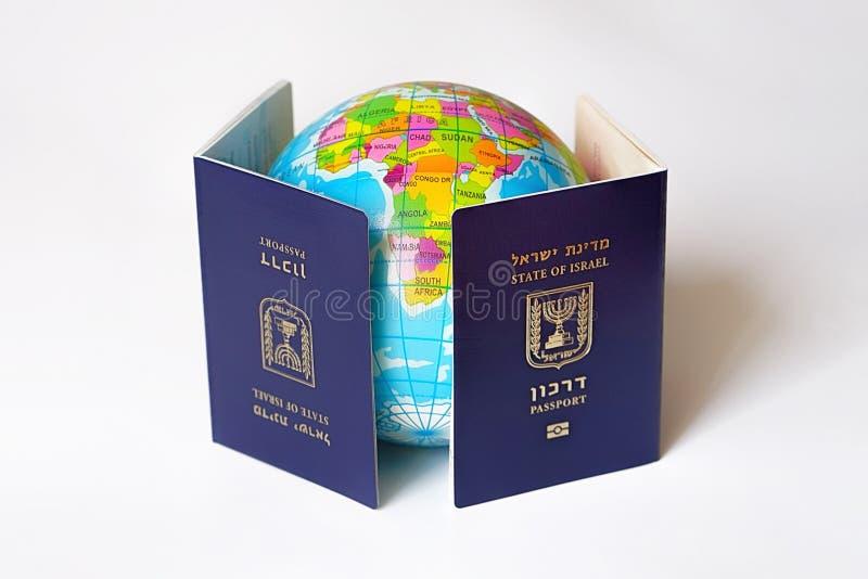Documento de la identificación del viaje internacional imagen de archivo libre de regalías