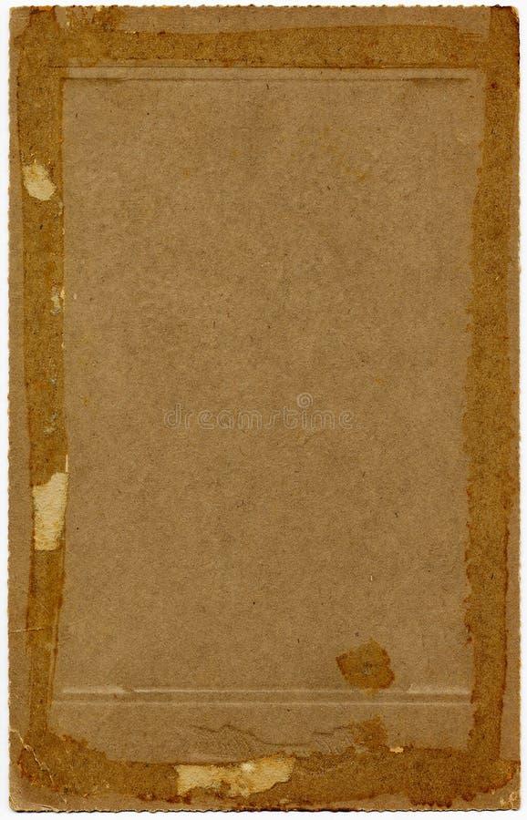 Documento degli anni 20 dell'annata fotografia stock libera da diritti