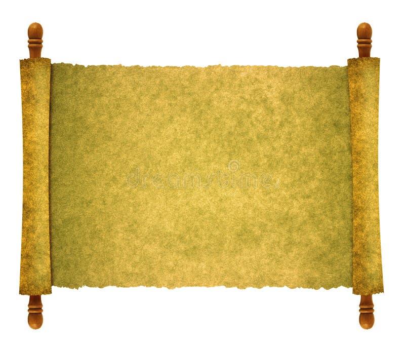 Documento del rotolo royalty illustrazione gratis