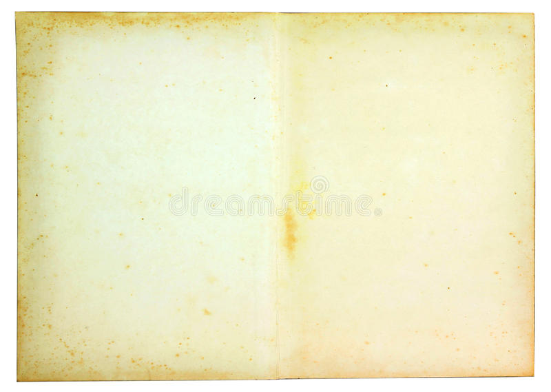 Documento dell'annata immagini stock