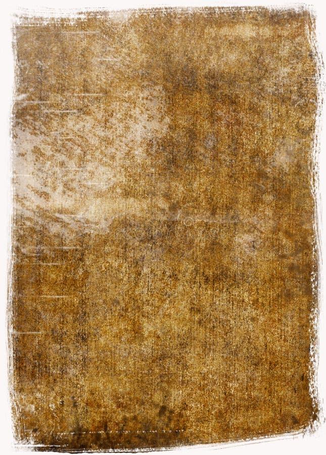 Carta d'annata immagine stock