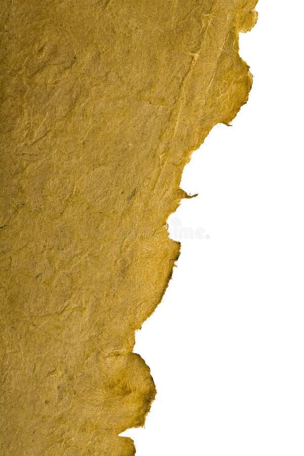 Documento dell'oggetto d'antiquariato immagine stock