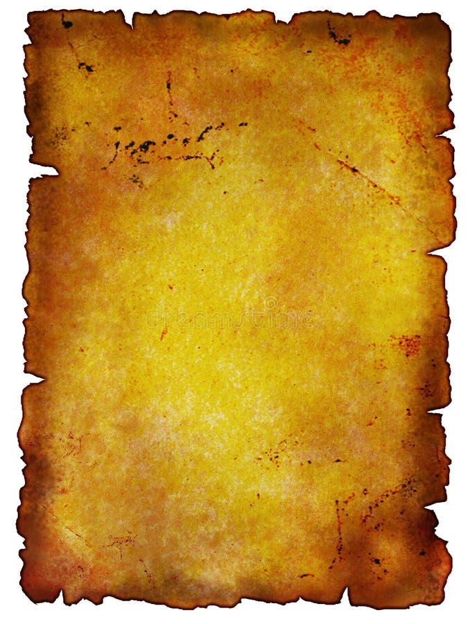 Documento dell'oggetto d'antiquariato fotografie stock