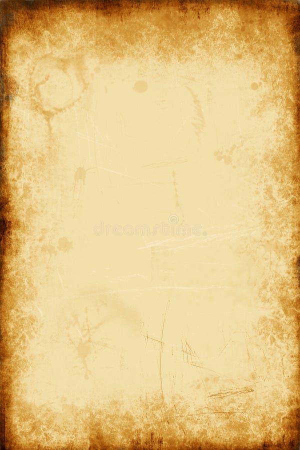 Documento dell'oro illustrazione vettoriale