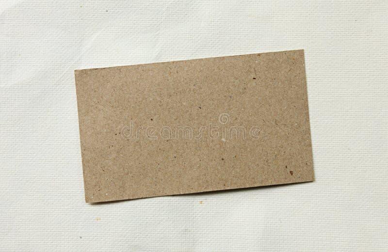 Documento di Brown fotografia stock