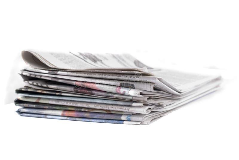 Documento di notizie immagine stock