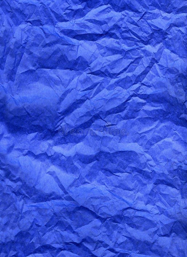 Documento di seta blu immagini stock