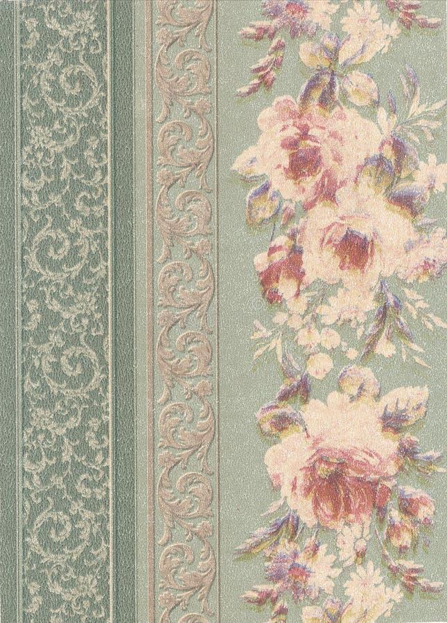 Documento di struttura della stampa floreale royalty illustrazione gratis