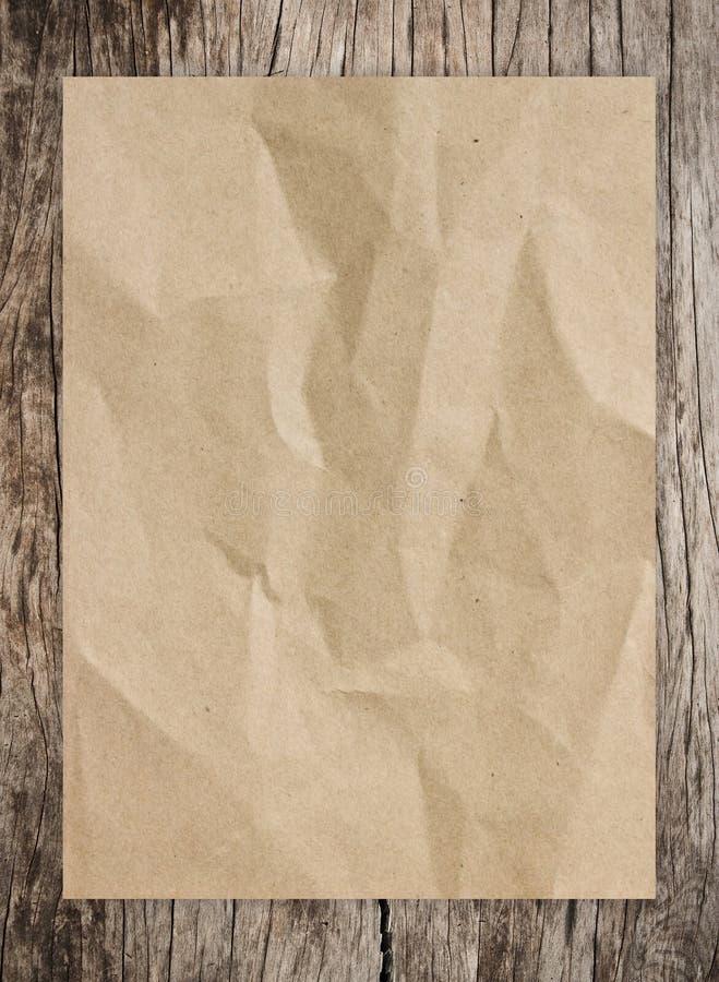 Documento e legno immagini stock libere da diritti