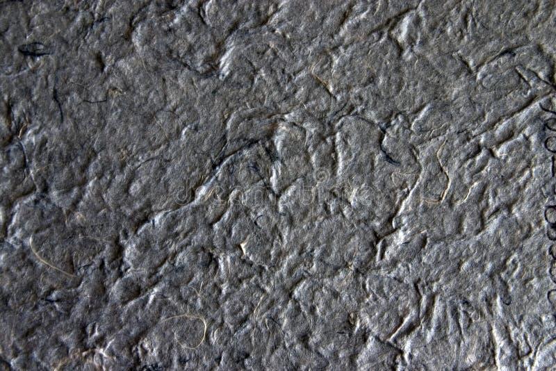 Documento fatto a mano - gray4 immagine stock