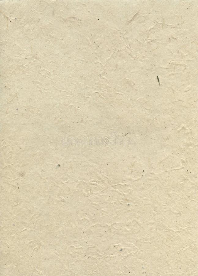 Documento fibroso colorato di struttura. fotografia stock libera da diritti