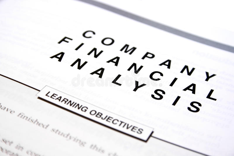 Documento finanziario immagini stock