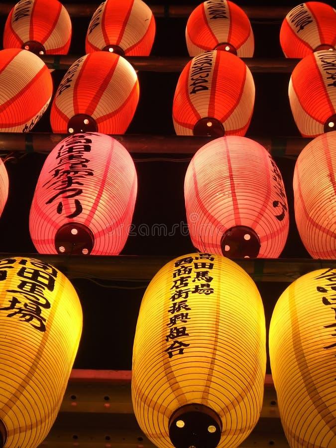 Documento giapponese Lantern2 immagini stock libere da diritti