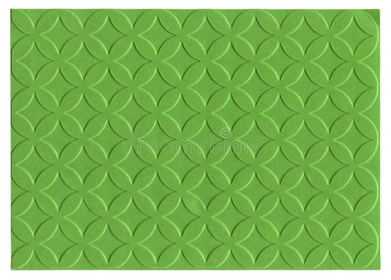 Documento impresso verde fotografia stock libera da diritti