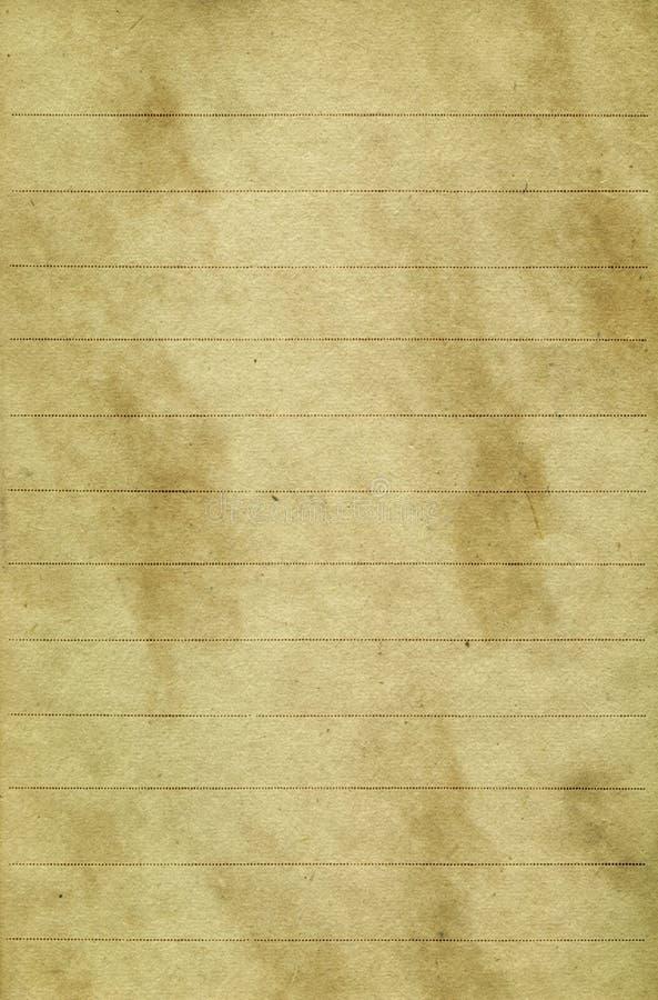 Documento invecchiato 3 immagine stock