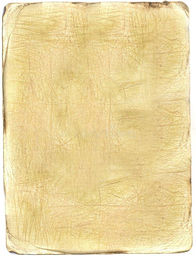 Carta invecchiata immagine stock