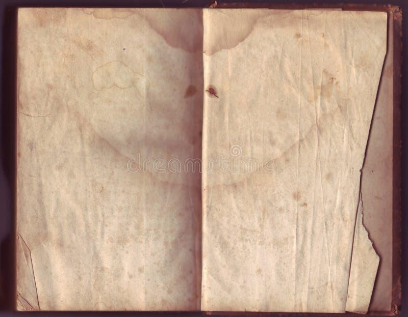 Documento molto vecchio fotografia stock libera da diritti