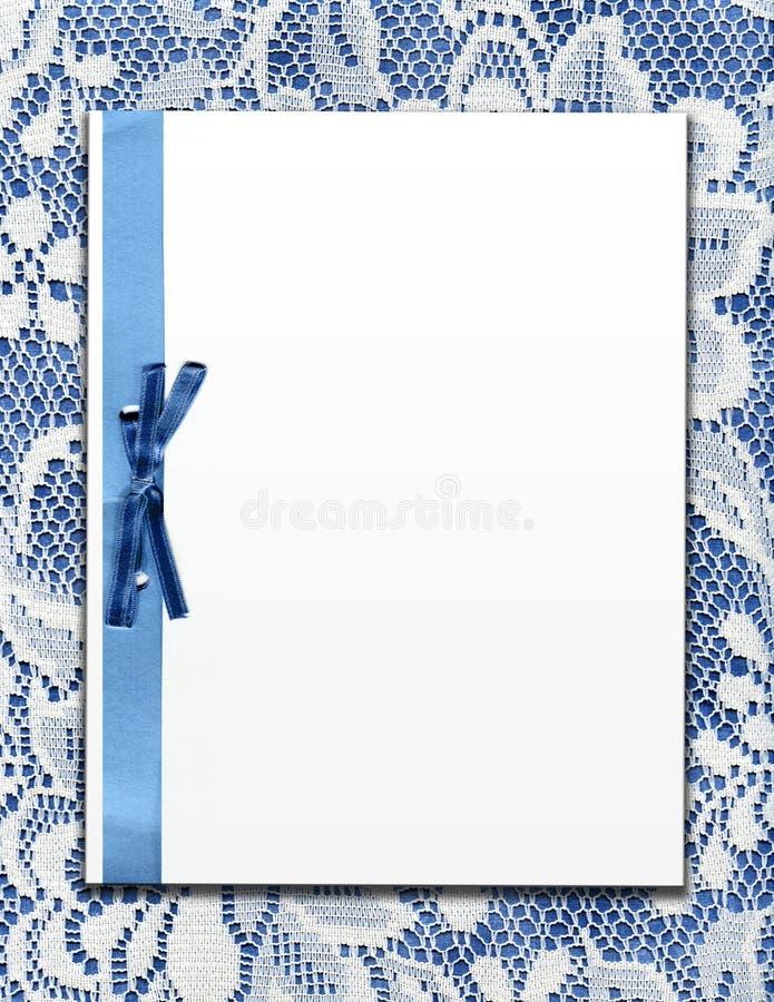 Documento sobre cordón de la vendimia imagenes de archivo