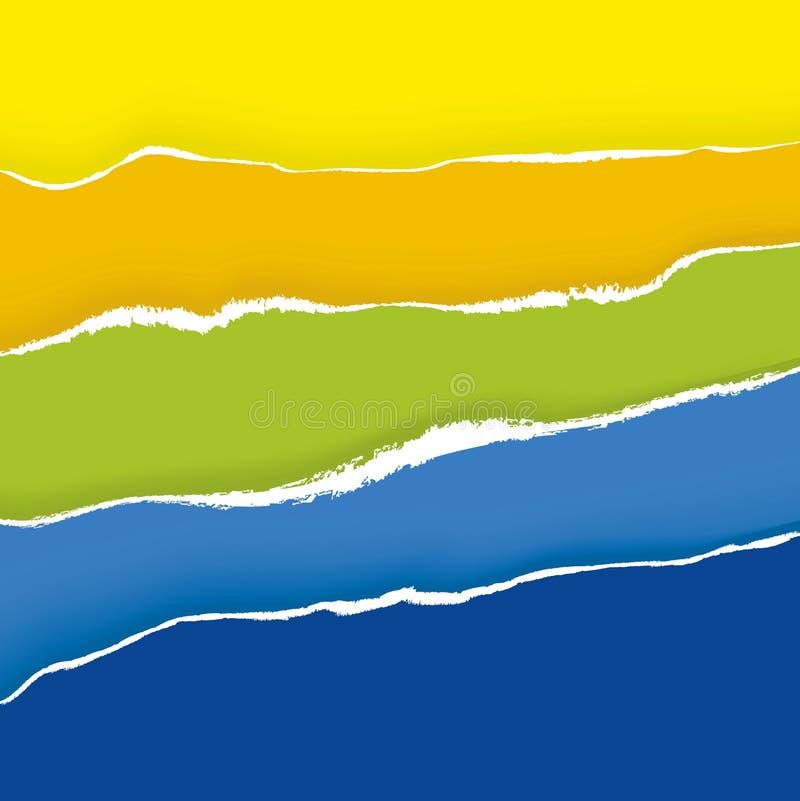 Download Documento Strappato (vettore) Illustrazione Vettoriale - Illustrazione di grunge, wallpaper: 3878321