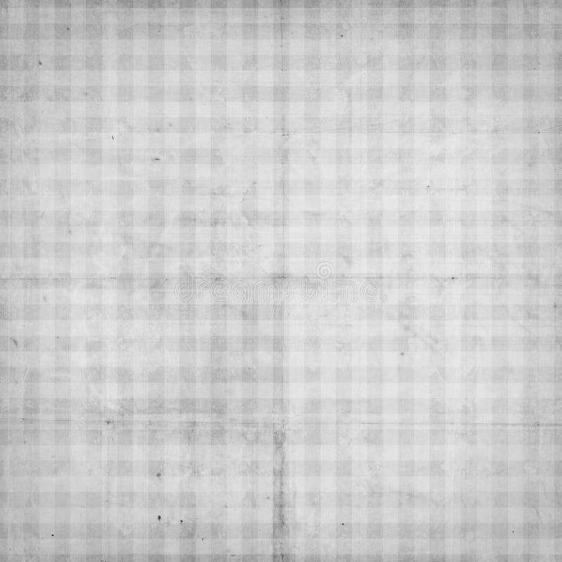 Documento Strutturato Controllato Dell Annata Antica Con Gli Assegni Fotografie Stock