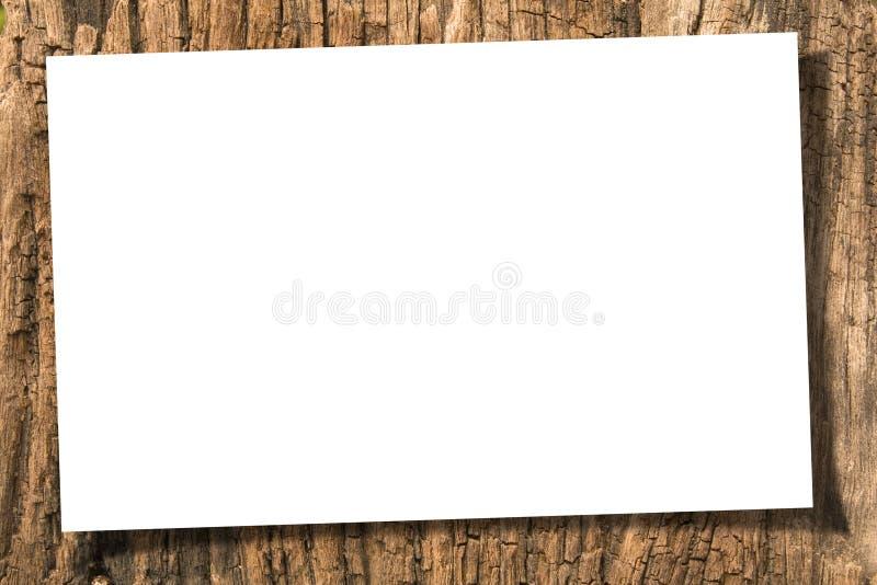 Documento su legno fotografie stock