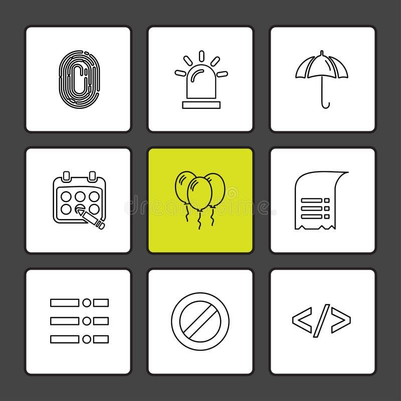 documento, suono, multimedia, interfaccia utente, puntatore, ENV i illustrazione di stock