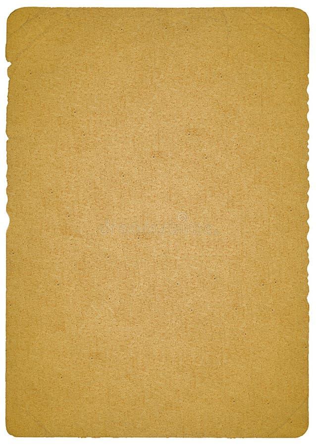 Documento vecchio immagine stock